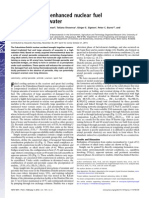 Uranyl peroxide enhanced nuclear fuel corrosion in seawater