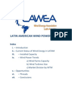 Latin American Wind Power Trends 2009