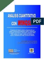 Manual de Uso - WINQSB
