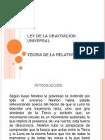 LEY DE LA GRAVITACIÓN UNIVERSAL - copia