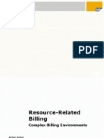 RRB- Resource related billing