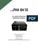 8410 Manual