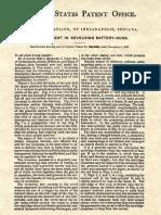 36836 Gatling Gun Patent