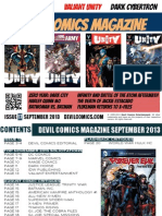 Devil Comics Magazine September 2013