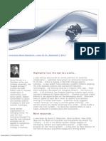 Innovation Watch Newsletter 12.18 - September 7, 2013