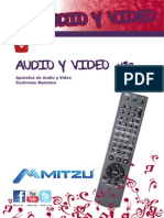 Catalogo 2013 de Mitzu en Audio y Video