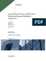 Team Software Process (TSP) Coach Mentoring Program Guidebook, Version 2.0