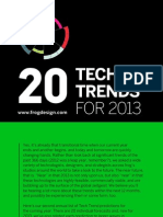 2013 Tech Trends Presentation — Frog Design