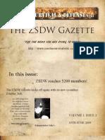ZSDW Newsletter 2.0