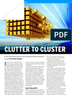 Clutter to Cluster
