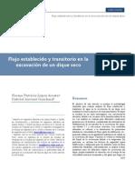 62022010 Flujo Establecido Transitorio Excavacion Dique Seco