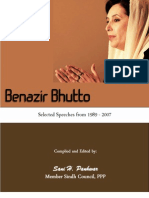 Benazir Bhutto; Selected Speeches 1989-2007