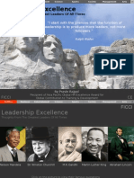 Leaders Excellence Quotes
