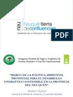 Neuquen Desarrollo Energetico Sostenible