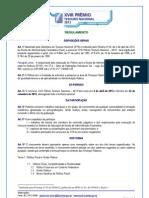 Regulamento XVIII Premio STN 2013