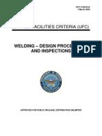 Welding -- Design Procedures and Inspections-b