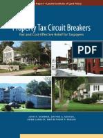 Property Tax Circuit Breakers