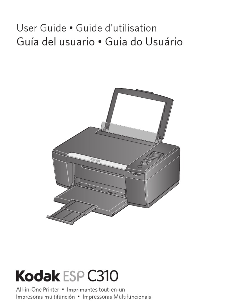 kodak esp c310 manual implied warranty printer computing rh scribd com