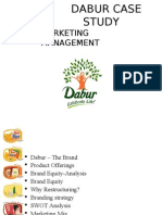 DABUR Restructuring and Re Positioning