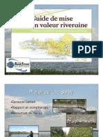 Présentation du Guide de mise en valeur riveraine (2009)
