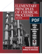TEXTBOOK - Elementary Principles of Chemical Processes (3rd Edition).PDF