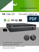 Datasheet Vd 16m 480 Gravador Digital de Video