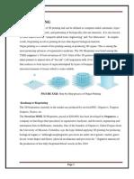 3d Printer Report