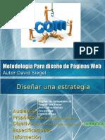 Metodología Para diseño de Páginas Web