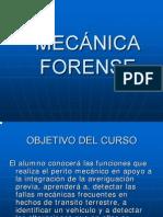 Curso Primera Mecanica Forense