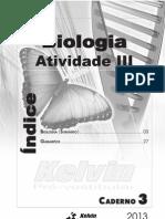Atividade 3 - Caderno 3 - Biologia