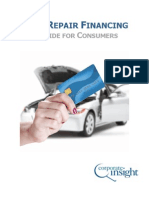 Auto Repair Financing - A Guide for Consumer