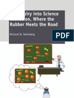 An Inquiry Into Science Education Where the Rubber Meets the Road