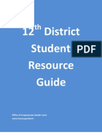 12th District Student Resource Guide