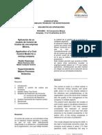 antamina-Aplicación de un modelo de Control de Costos de una empresa Minera