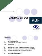 Calidad en Software