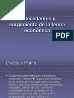 Desarrollo de La Teoria Economica, Historia Del 2