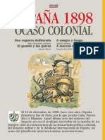 Revista La Aventura de la Historia, Dossier 02 - España 1898, Ocaso Colonial - Elena Hernández Sandoica