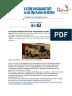 Boletín Informativo 6-9-2013