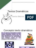 texto dramatico sexto
