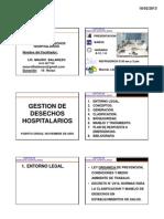 Desechos Hospitalarios M Balarezo