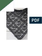 Crochet Skull Shawl