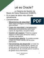 Admin is Trac Ion de Oracle