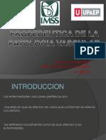 Propedeutica de La Patologia Vascular