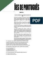 QUESTÕES DE PORTUGUÊS.doc
