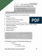 A. Tecnicas de Recoleccion de Informacion OFDA(M12)