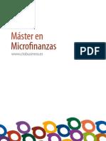 Master Microfinanzas