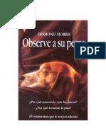 Morris, Desmond - Observe a Su Perro