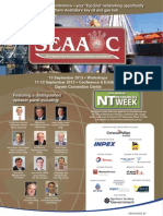 SEAAOC 2013 Flyer - Top End Oil & Gas Convention