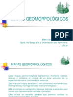 MAPA geomorfológico