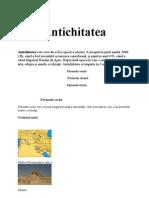 ISTORIA OMENIRII-ANTICHITATEA 1